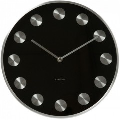 Nástenné hodiny KA5252BK čierne Karlsson 30cm