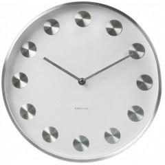Nástenné hodiny KA5252WH biele Karlsson 30cm