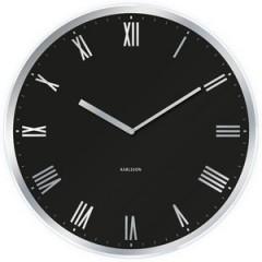 Nástenné hodiny KA5424BK čierne Karlsson 60cm
