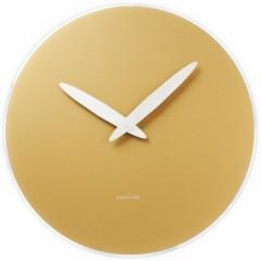 Nástenné hodiny 5378 Gold Karlsson 40cm