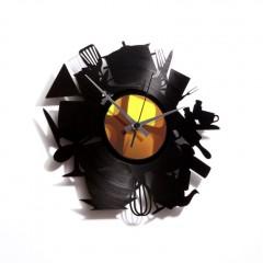 Nástenné hodiny Discoclock 020 Kitchen madness 30cm