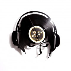 Nástenné hodiny Discoclock 030 DJ Ane@work 30cm