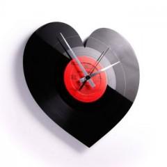 Nástenné hodiny Discoclock 044 Heart 30cm