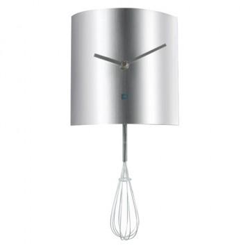 Nástenné hodiny do kuchyne Šľahač 15cm