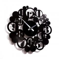 Nástenné hodiny Discoclock 018 Bodoni bubbles 30cm