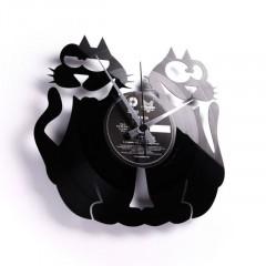 Nástenné hodiny Discoclock 047 Mačky 30cm