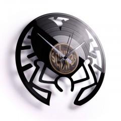 Nástenné hodiny Discoclock 048 Pavúk 30cm