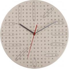 Nástenné hodiny DCI Word Search 29cm