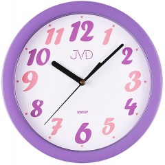 Nástenné hodiny JVD sweep Funky 3 25cm