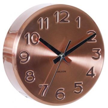 Nástenné hodiny 5477CO Karlsson 19cm