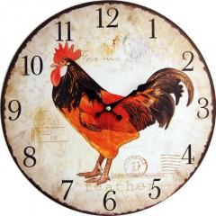 Nástenné hodiny hl Ferme 34cm