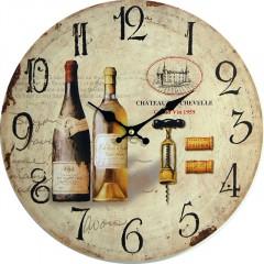 Nástenné hodiny hl Chateau 34cm
