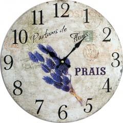 Nástenné hodiny hl Parfums de Fleurs 34cm