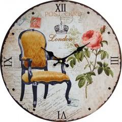 Nástenné hodiny hl Post card London 34cm