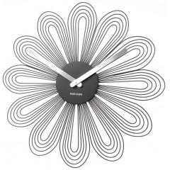 Nástenné hodiny Karlsson 5421Bk 52cm
