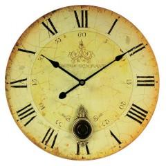 Nástenné hodiny Techno Line s kyvadlom, 34 cm