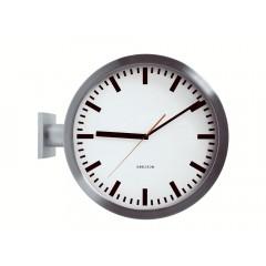 Nástenné hodiny 850551 Karlsson Double 38cm