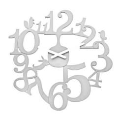 Nástenné hodiny PI:P Koziol, biela, 45cm