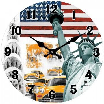 Nástenné hodiny 14849 Lowell 34cm