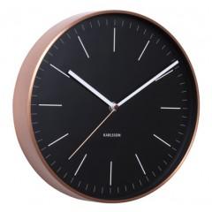 Nástenné hodiny KA5507BK Karlsson 28cm