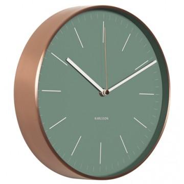 Nástenné hodiny KA5507GR Karlsson 28cm