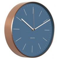 Nástenné hodiny KA5507BL Karlsson 28cm