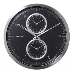 Nástenné hodiny KA5508BK Karlsson 50cm