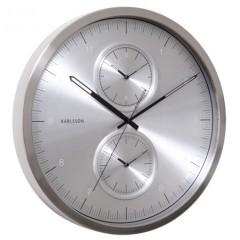 Nástenné hodiny KA5508SI Karlsson 50cm