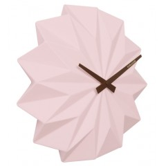Nástenné hodiny KA5531PI Karlsson, Origami, 27cm