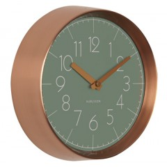 Nástenné hodiny KA5580GR Karlsson 22cm