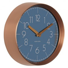 Nástenné hodiny KA5580BL Karlsson 22cm