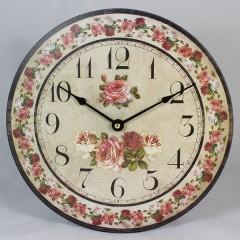 Nástenné hodiny HLC, Rose, 30cm