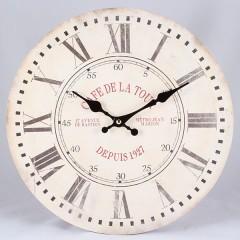 Nástenné hodiny HLC, Cafe de la Tour, 34cm