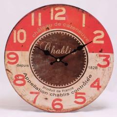 Nástenné hodiny HLC, Chablis, 34cm