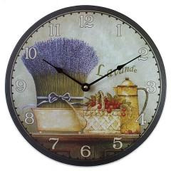 Nástenné hodiny HLC, Lavande, 30cm