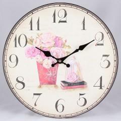 Nástenné hodiny HLC, Bouquet, 34cm