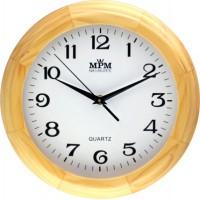 Nástenné hodiny MPM 3050.53 - hnedá svetlá, 27cm