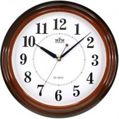 Nástenné hodiny MPM, 2926.50.SW - hnedá, 34cm