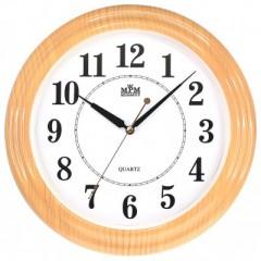 Nástenné hodiny MPM, 2926.60.SW - oranžová, 34cm