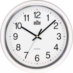 Nástenné hodiny MPM, 2927.00.SW - biela, 30cm
