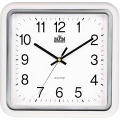 Nástenné hodiny MPM, 2928.00.SW - biela, 30cm
