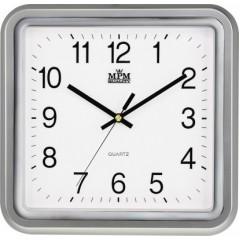 Nástenné hodiny MPM, 2928.70.SW - strieborná, 30cm