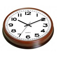 Nástenné hodiny MPM, 2974.52 - hnedá tmavá, 30cm
