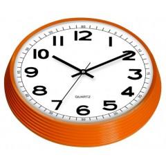 Nástenné hodiny MPM, 2975.51.AF - hnedá svetlá, 30cm