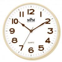Nástenné hodiny MPM, 2976.51.AF - hnedá svetlá, 30cm