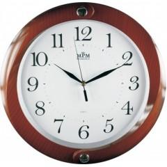 Nástenné hodiny MPM, 2441.50.SW - hnedá, 34cm