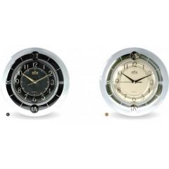 Nástenné hodiny MPM, 2445.90.SW - čierna, 30cm