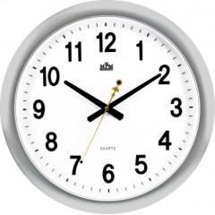 Nástenné hodiny MPM, 2449.70.SW - strieborná, 45cm