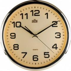 Nástenné hodiny MPM, 2450.8080.SW - zlatá/zlatá, 36cm
