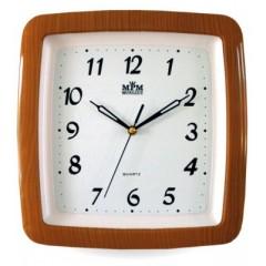 Nástenné hodiny MPM, 2459.50.SW - hnedá, 29cm